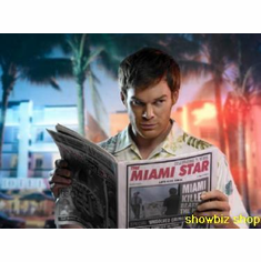 Michael C Hall Poster Miami Star Paper 24inx36in