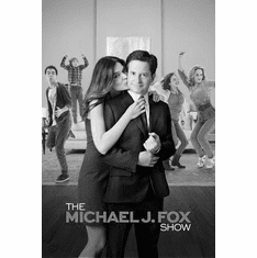 "Michael J Fox Show Black and White Poster 24""x36"""