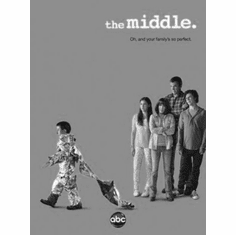 """Middle The Black and White Poster 24""""x36"""""""