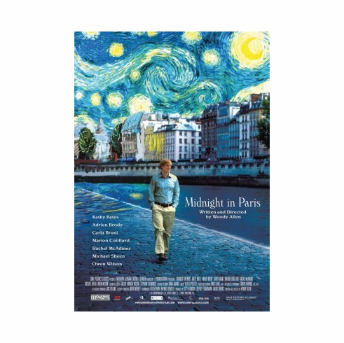 Midnight In Paris Mini Poster 11x17