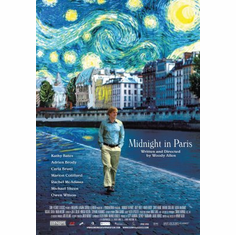 Midnight In Paris Movie Poster 24x36