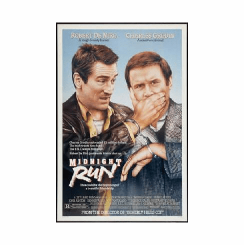 Midnight Run Poster 24inx36in
