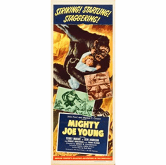 Mighty Joe Young Movie Poster Insert 14x36