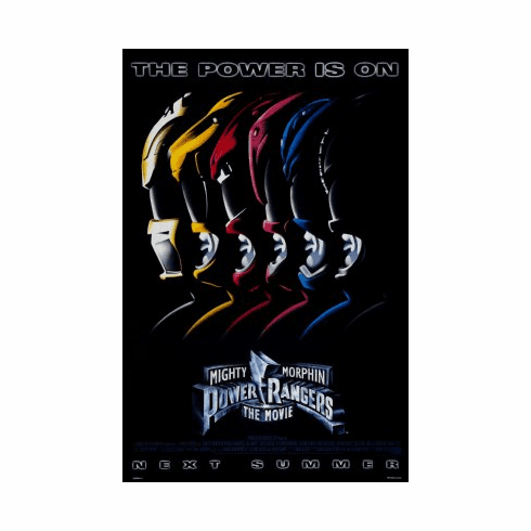 Mighty Morphin Power Rangers Movie Poster 24x36