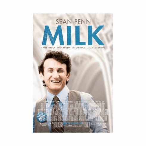 Milk Movie Poster Sean Penn 24in x36 in