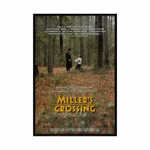 Millers Crossing Poster 24inx36in