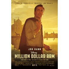 Million Dollar Arm Movie poster 24inx36in Poster
