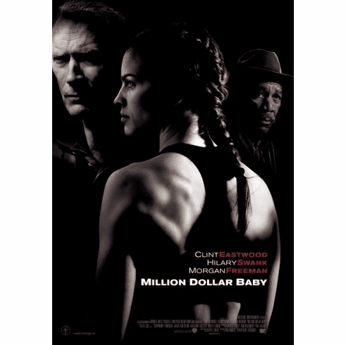 Million Dollar Baby Movie Poster 24inx36in