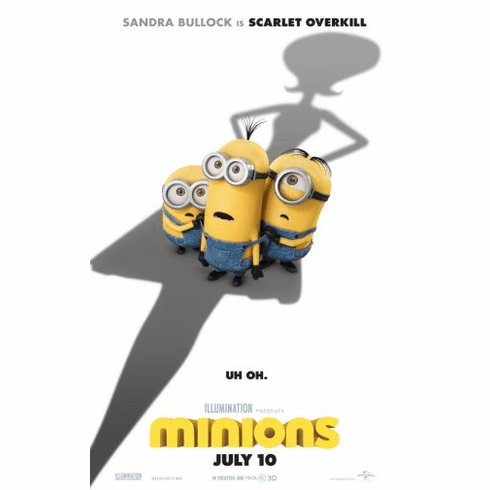 Minions Movie Poster 24in x36in