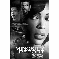 "Minority Report Black and White Poster 24""x36"""