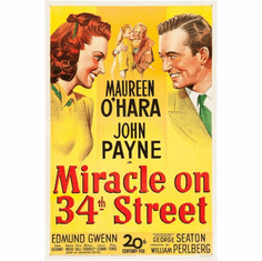 Miracle On 34Th Street Movie Poster 24inx36in