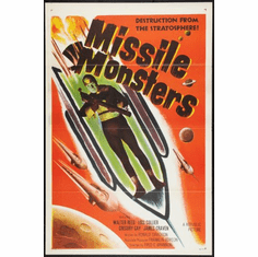 Missile Monsters Movie Poster 24inx36in