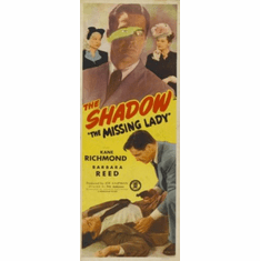 Missing Lady Insert Movie Poster 14x36