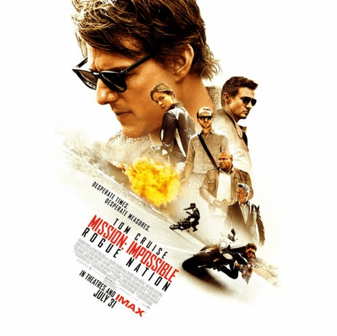 Mission Impossible Rogue Nation Movie Poster 24in x36in