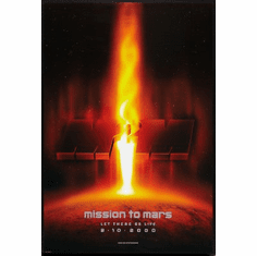Mission To Mars Movie Poster 24x36
