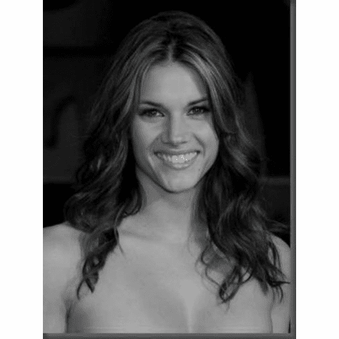 """Missy Peregrym Black and White Poster 24""""x36"""""""