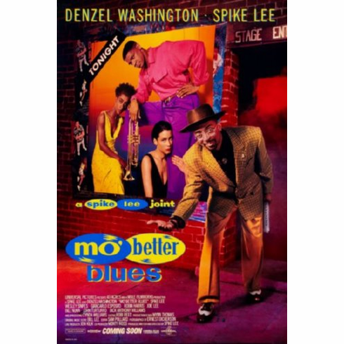Mo Better Blues Movie Poster 24inx36in