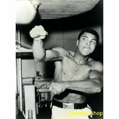 Mohammed Ali Bw Vintage Pic 8x10 photo Master Print