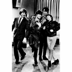 "Monkees Black and White Poster 24""x36"""