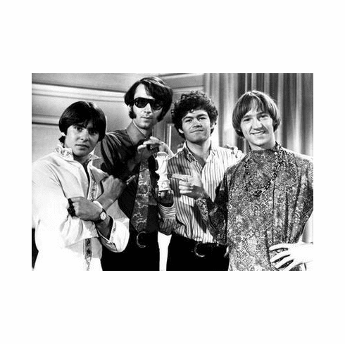Monkees Poster Great Bw Shot 4 24in x36 in