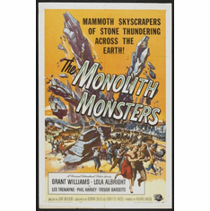 Monolith Monsters Movie Poster 24inx36in