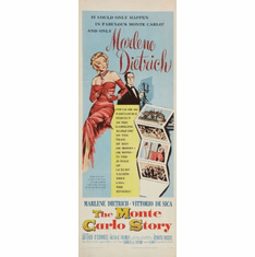 Monte Carlo Story The Movie Poster Insert 14x36 #01