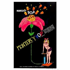 Monterey Pop Poster 24inx36in