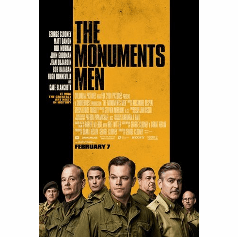 Monuments Men Movie Poster 24Inx36In Poster