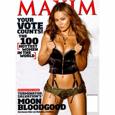 Moon Bloodgood Poster 24inx36in