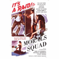 Morals Squad Movie Poster 24x36 exploitation