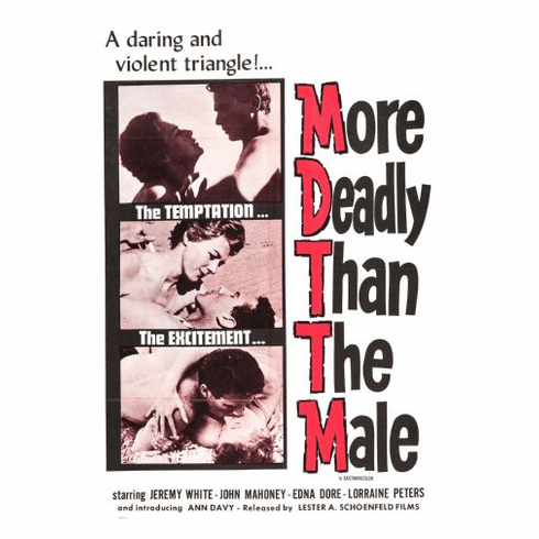 More Deadly Than The Male Movie Poster 24x36