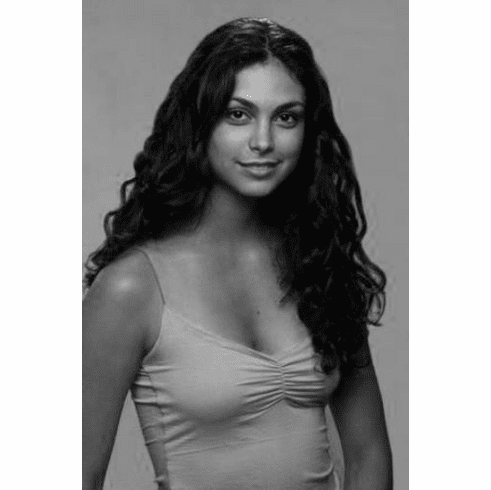 "Morena Baccarin Black and White Poster 24""x36"""