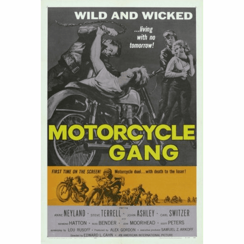 Motorcycle Gang Movie Poster 24inx36in Poster