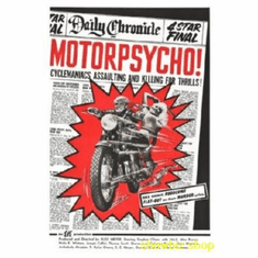 Motorpsycho Movie 8x10 photo Master Print