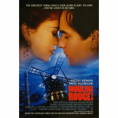 Moulin Rouge Movie Poster 24x36 #01