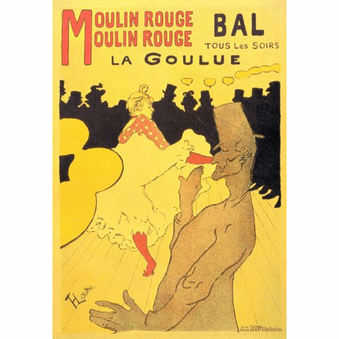 Moulin Rouge Poster 24in x36in