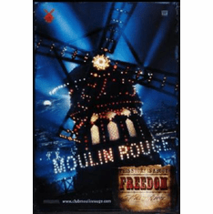 Moulin Rouge Poster 24inx36in