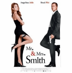 Mr And Mrs Smith Movie 8x10 photo Master Print