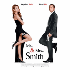 Mr And Mrs Smith Movie Poster 24inx36in