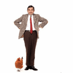 Mr Bean Poster 24inx36in