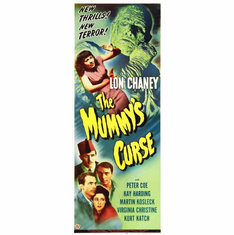 Mummys Curse The 14x36 Insert Movie Poster