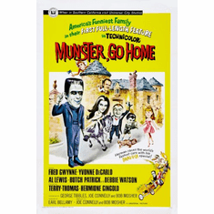 Munster Go Home Movie Poster 24inx36in