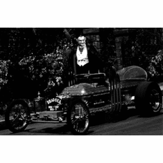 """Munsters Black and White Poster 24""""x36"""""""