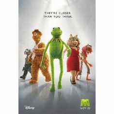 Muppets Poster 24inx36in