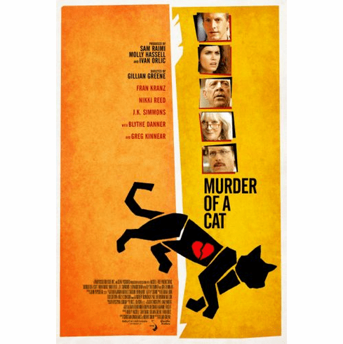 Murder Of A Cat Movie Poster 24in x36in