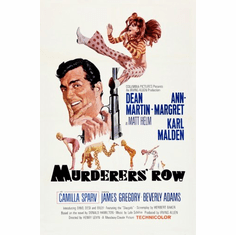 Murderers Row Movie Poster 24inx36in
