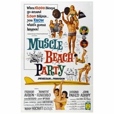 Muscle Beach Party Movie Poster 24inx36in