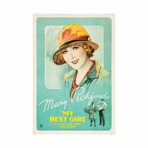 My Best Girl Poster Mary Pickford 24inx36in