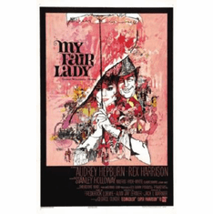 My Fair Lady Movie Poster 24inx36in