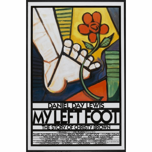 My Left Foot Movie Poster 24inx36in